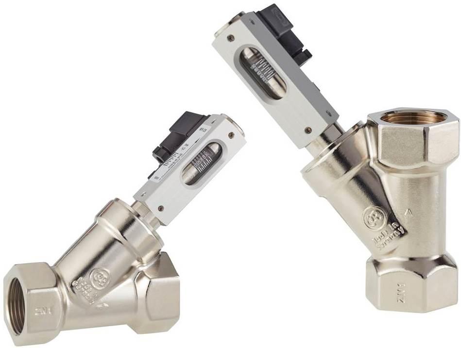 Durchfluss-Sensor WY horizontal und vertikal einzubauen