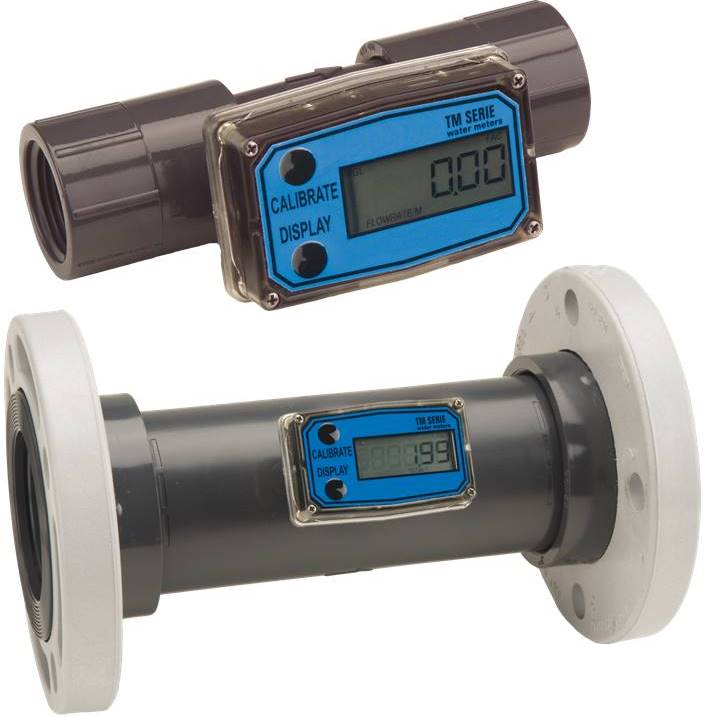 TM Turbinen-Durchflussmesser
