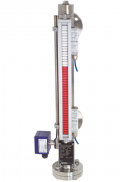 Bypass Level indicator BNA for liquids, also suitable for restless liquids